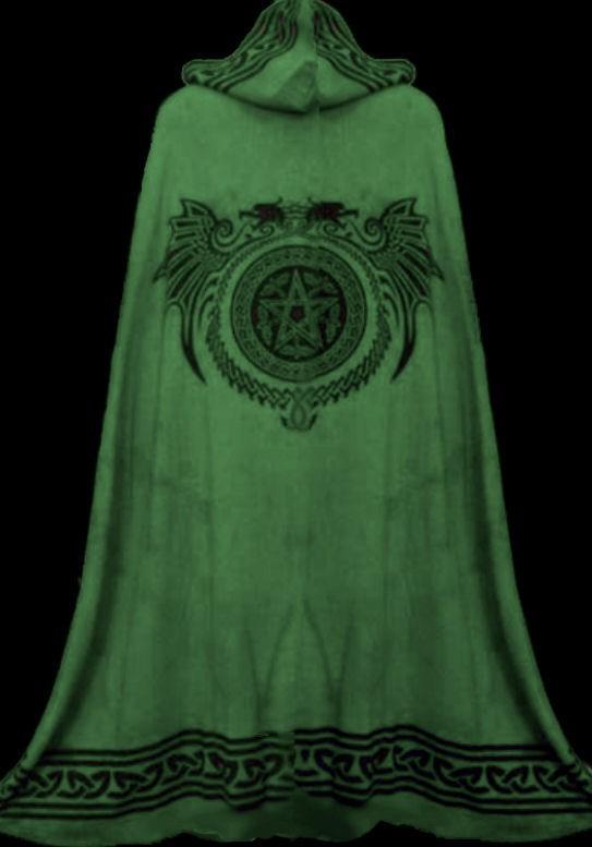 gothic mittelalter kelten umhang cape gef ttert keltische. Black Bedroom Furniture Sets. Home Design Ideas
