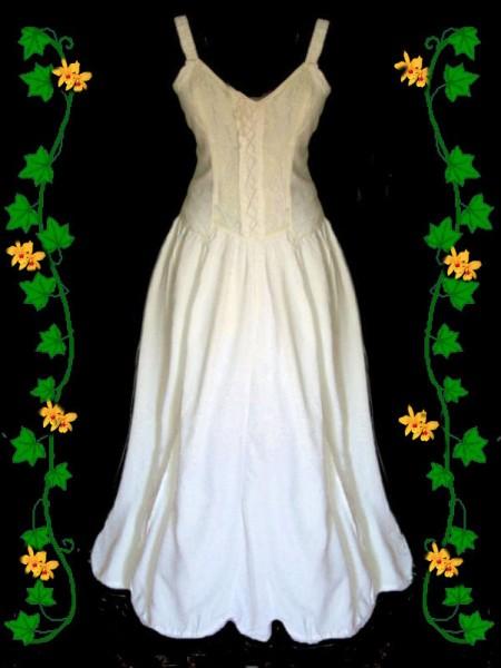gothic mittelalter kleid romantisch wei spitze 34 36 38 40 42 44 neu ebay. Black Bedroom Furniture Sets. Home Design Ideas